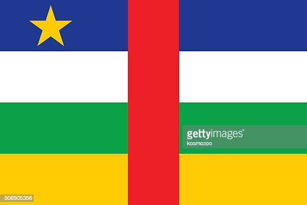 flag central african republic - central african republic stock illustrations