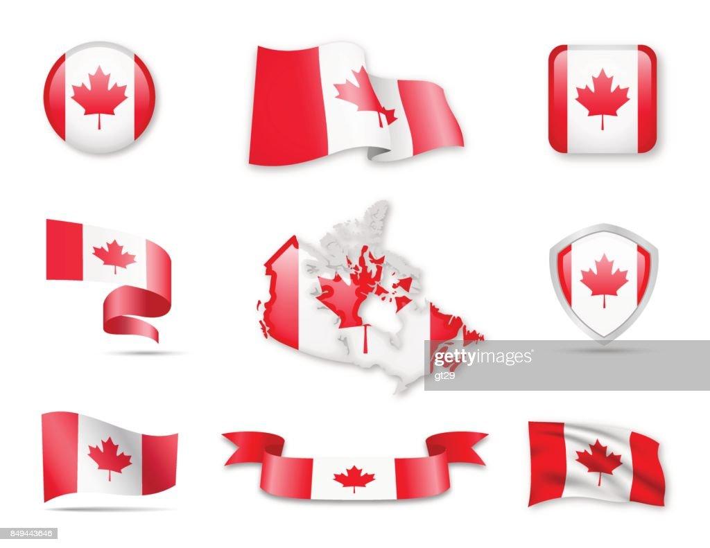 Flag Collection - Canada Set