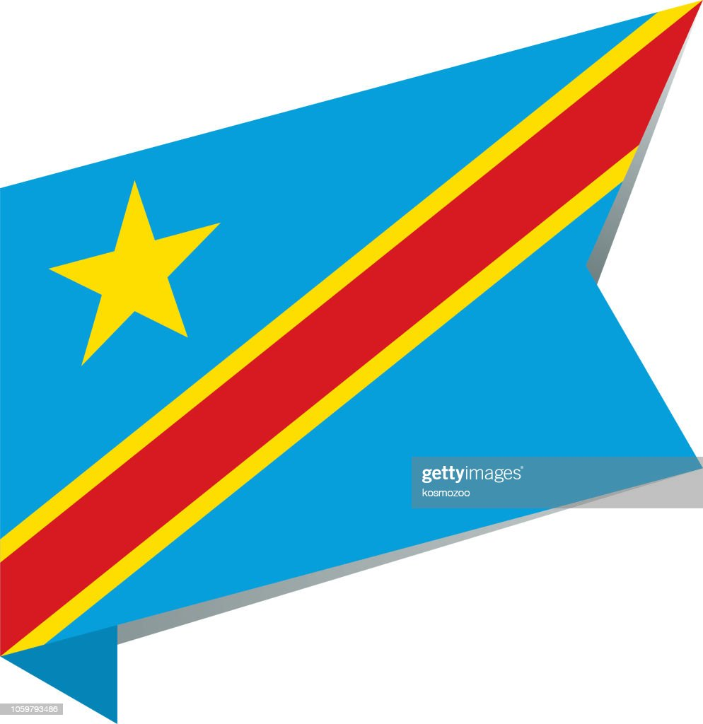 Flag Democratic Republic of the Congo