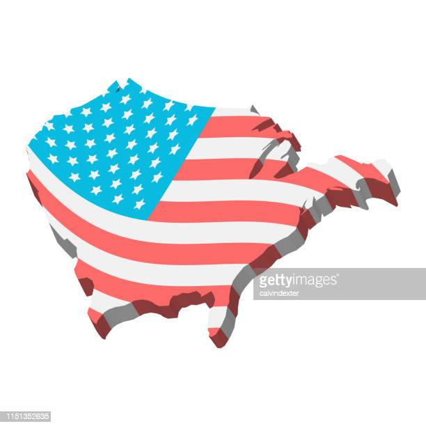 usa flag design - historical document stock illustrations, clip art, cartoons, & icons