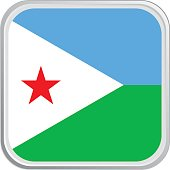 Flag Djibouti