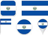 Flag El Salvador