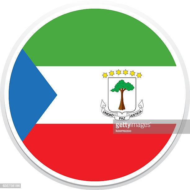 flag equatorial guinea - equatorial guinea stock illustrations