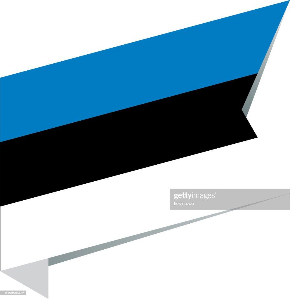 エストニア 国旗