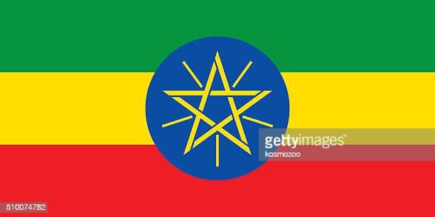 ilustrações, clipart, desenhos animados e ícones de bandeira da etiópia - ethiopia