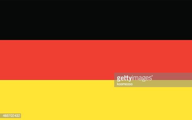 bildbanksillustrationer, clip art samt tecknat material och ikoner med flag germany - västtyskland
