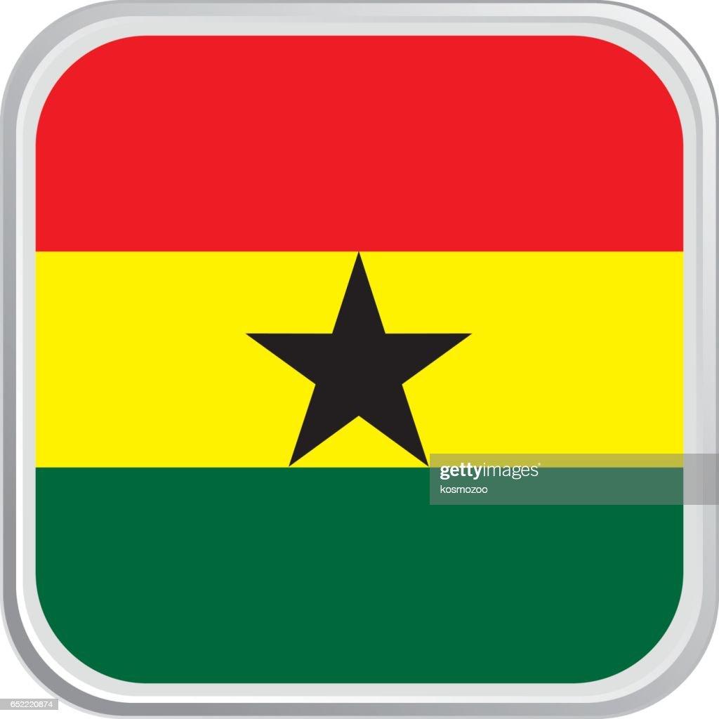 Flag Ghana : stock illustration