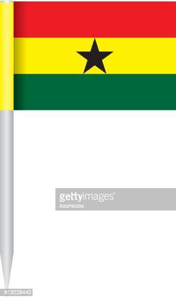 flag ghana - ghana flag stock illustrations, clip art, cartoons, & icons
