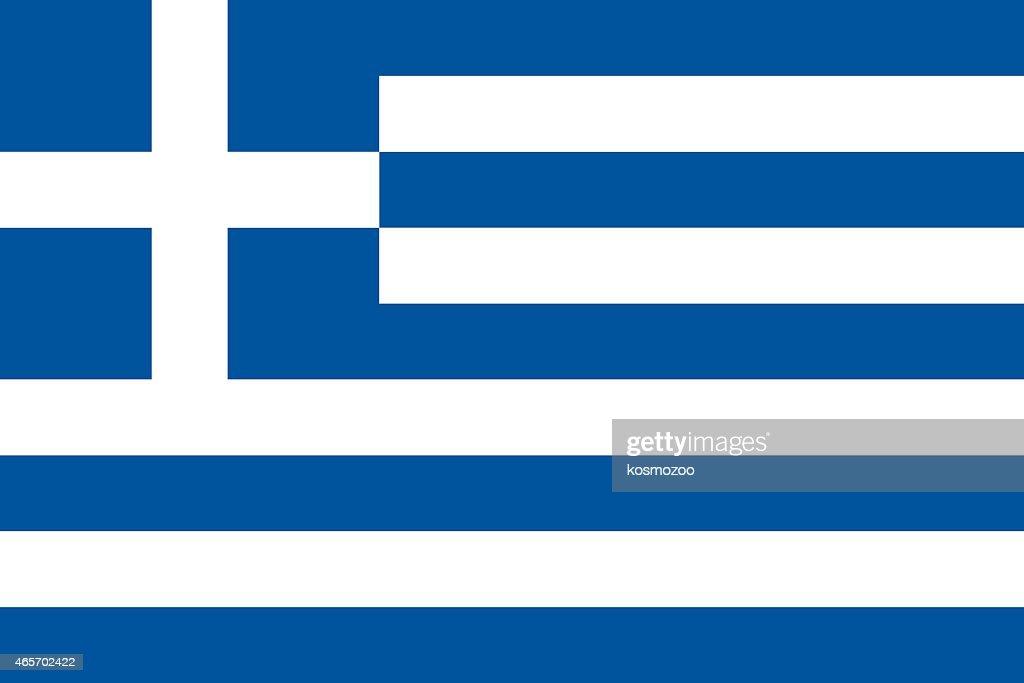Flag Greece : stock illustration