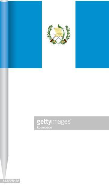 flag guatemala - guatemala stock illustrations, clip art, cartoons, & icons
