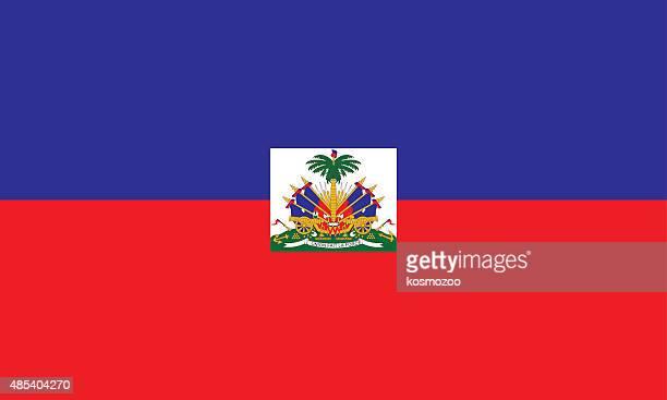 flag haiti - haiti stock illustrations