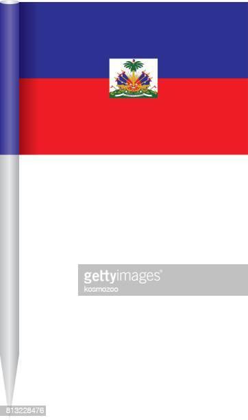 flagge haiti - haiti stock-grafiken, -clipart, -cartoons und -symbole