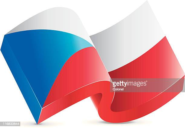 Flag Icon - Czech Republic