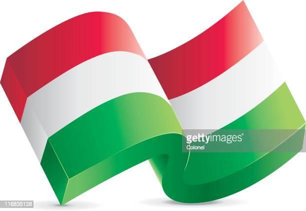 Flag Icon - Hungary