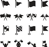 Flag icons set