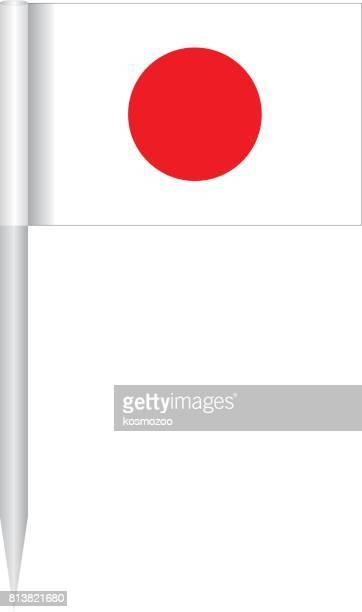 flag japan - japanese flag stock illustrations, clip art, cartoons, & icons