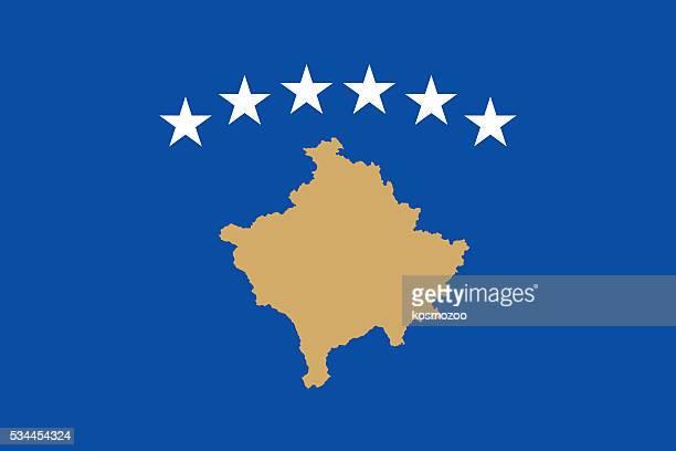 illustrations, cliparts, dessins animés et icônes de drapeau du kosovo - kosovo