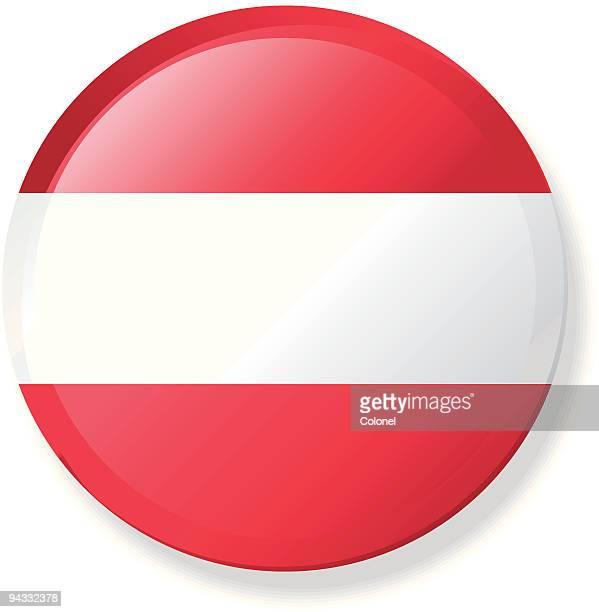 Flagge-Österreich Revers mit Knopf