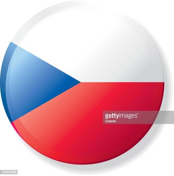 Flag Lapel Button - Czech Republic