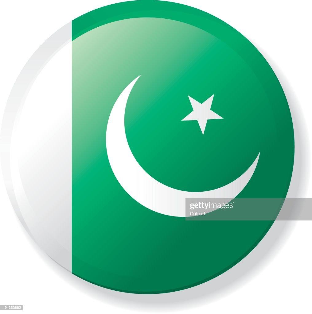 Flag Lapel Button - Pakistan