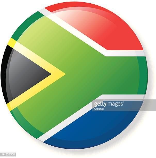 Flag Lapel Button - South Africa