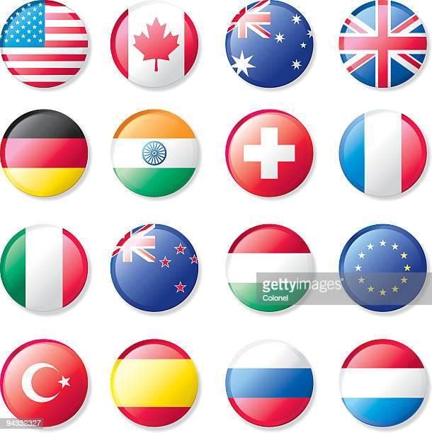 flagge revers knöpfen - russische flagge stock-grafiken, -clipart, -cartoons und -symbole