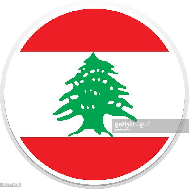 flag lebanon - lebanon country stock illustrations, clip art, cartoons, & icons