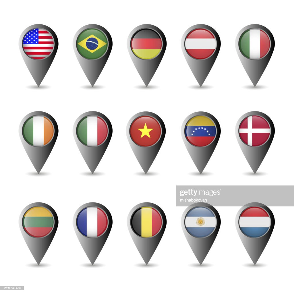 Flag markers