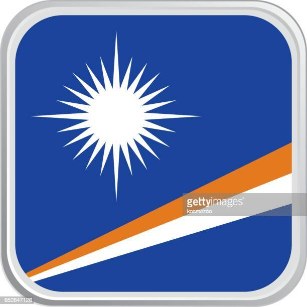 flag marshall islands - marshall islands stock illustrations, clip art, cartoons, & icons