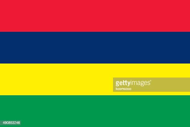 ilustrações, clipart, desenhos animados e ícones de bandeira das ilhas maurício - ilhas maurício