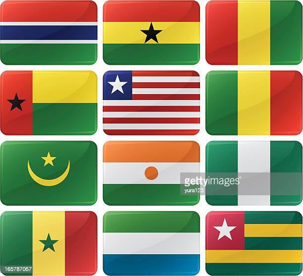 Flag Menu Buttons
