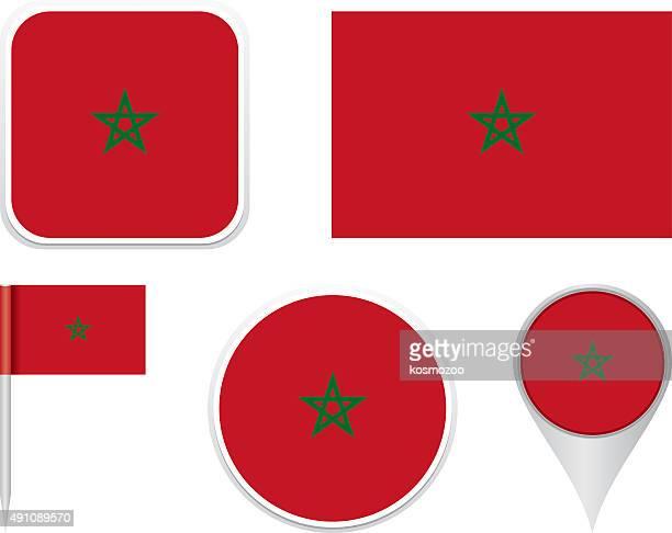 Flag Morocco