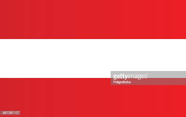 flag of austria - all european flags stock illustrations