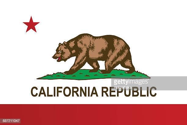 ilustraciones, imágenes clip art, dibujos animados e iconos de stock de bandera de california - 2015