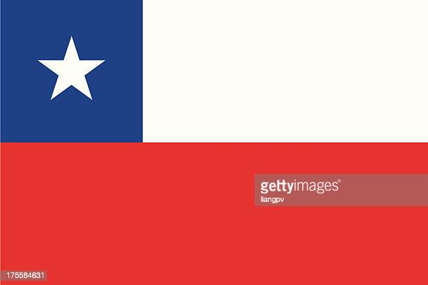 flag of chile - chile stock illustrations