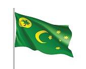 Flag of Cocos (Keeling) Islands.