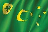 Flag of Cocos Keeling Islands.