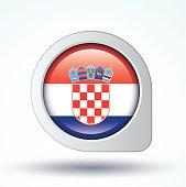 Flag of Croatia, vector illustration