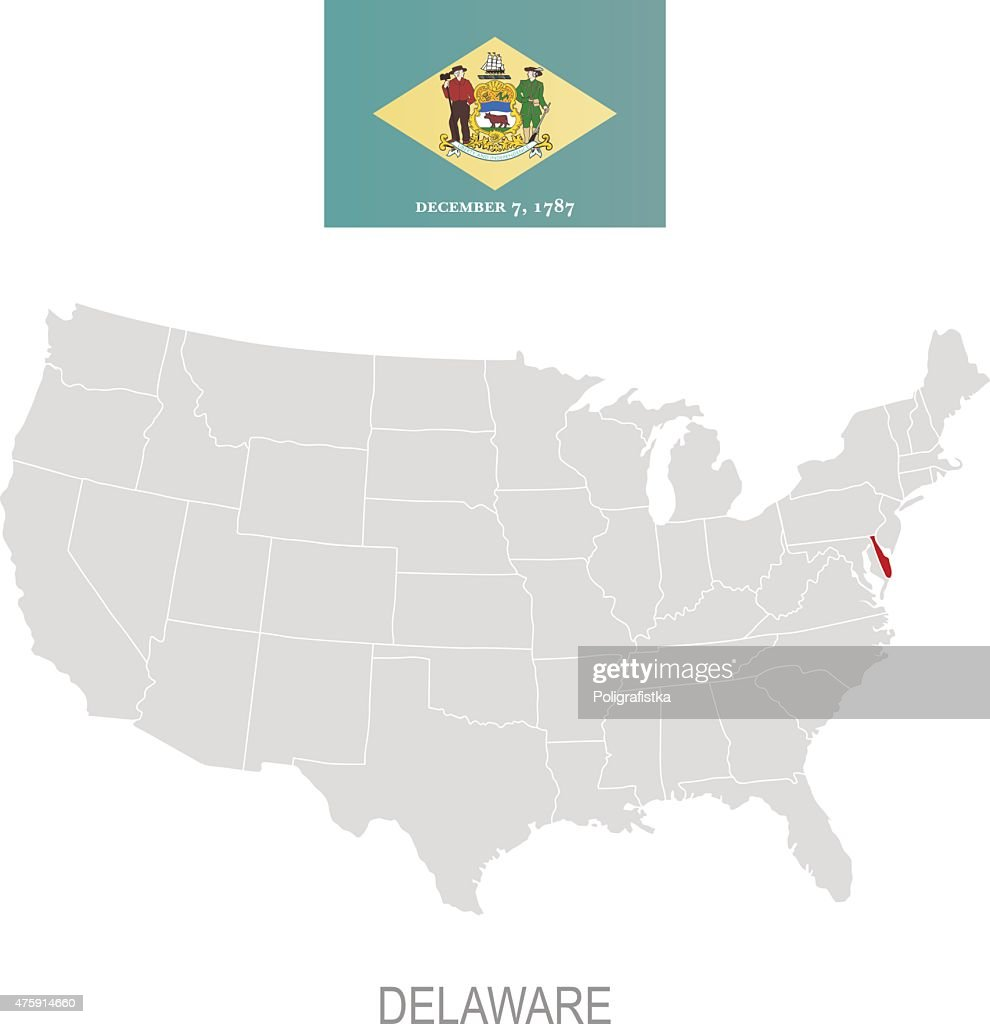 Flag Of Delaware And Location On Us Map High-Res Vector ... Delaware On Us Map on state of delaware map, delaware bay map, dallas texas united states map, delaware river, delaware state line map, delaware on a world map, delaware and maryland state maps, delaware agricultural map, delaware state location, delaware school district map, delaware airports map, delaware street map, delaware on map show, delaware road map, delaware colony trade, about delaware map, delaware mine michigan, usa map, delaware in the us, delaware's map,