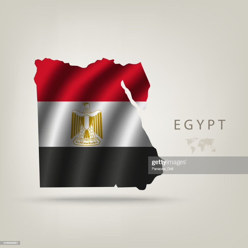 Flag of Egypt as a country