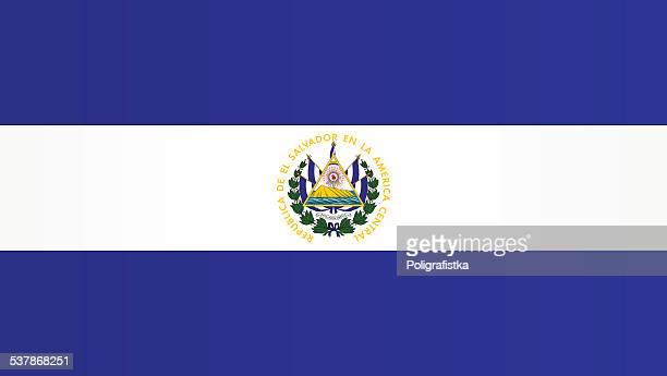 エルサルバドルの国旗 - エルサルバドル国旗点のイラスト素材/クリップアート素材/マンガ素材/アイコン素材