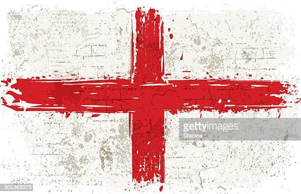 Flag of England on Wall