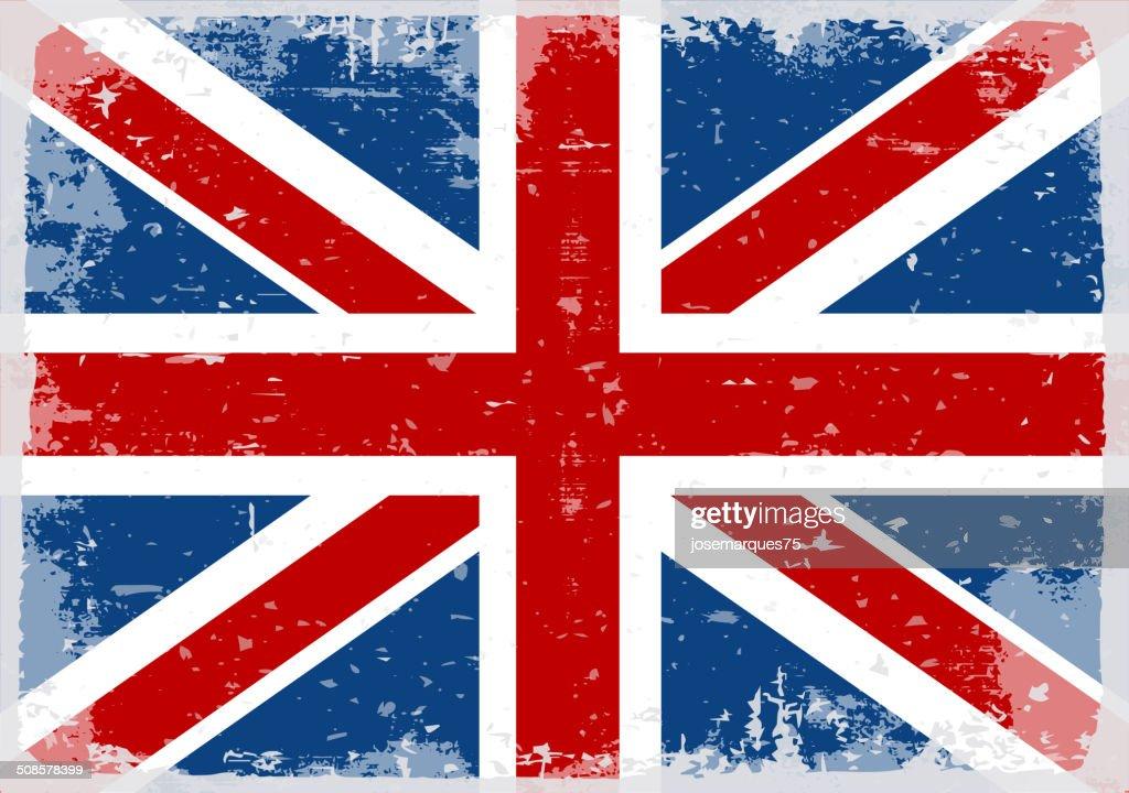 Flag of England : Vector Art