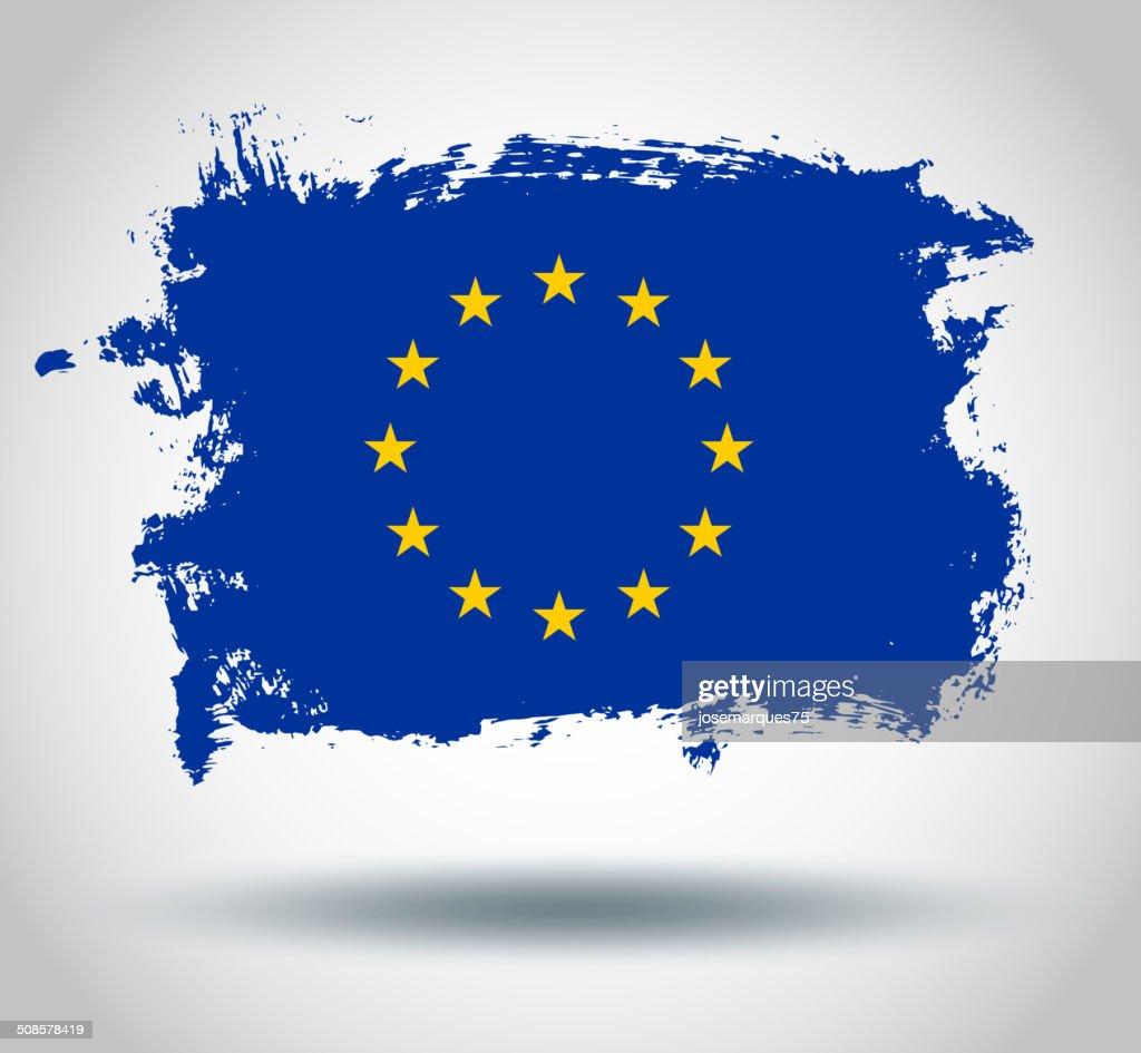 Bandiera dell'Unione europea : Arte vettoriale