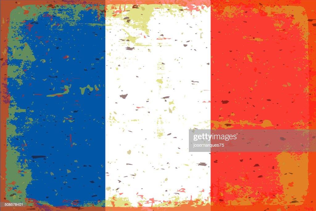 フランスの旗 : ベクトルアート