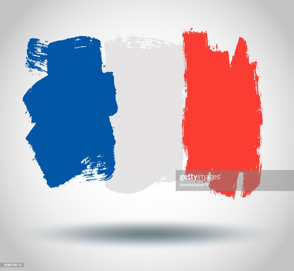 Flag of France : Vector Art