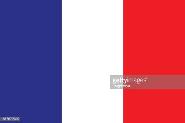 flag of france - france stock illustrations