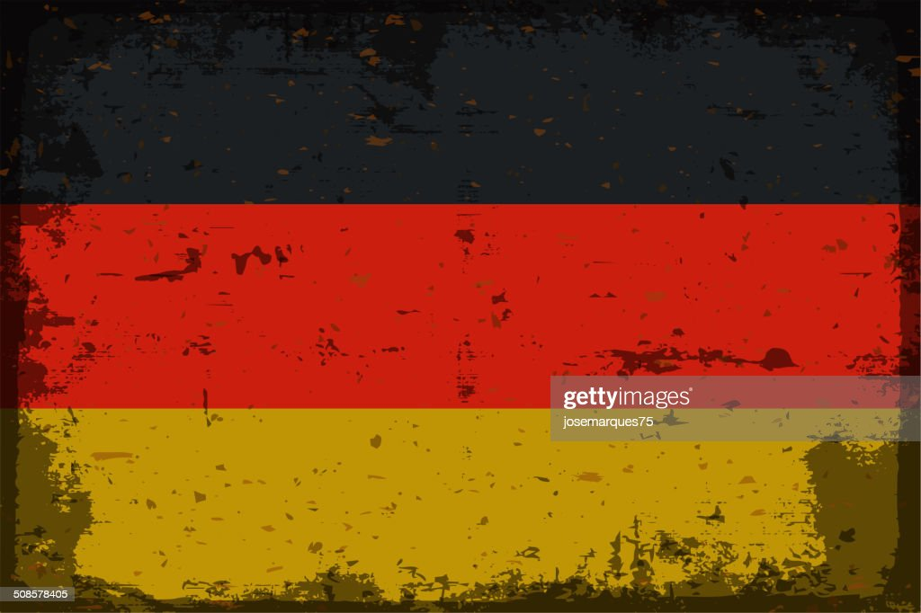 Flag of germany : Vector Art