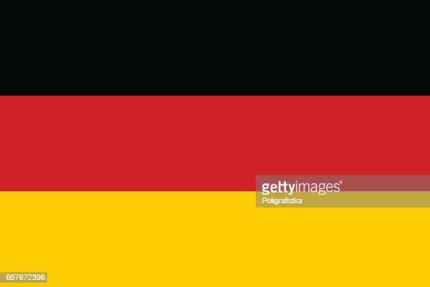 flag of germany - germany stock illustrations