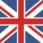 Flag of Great Britain. Official UK flag of the United Kingdom